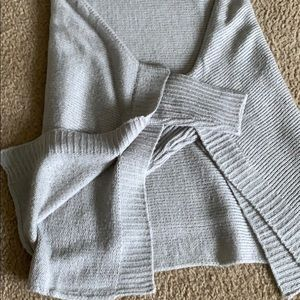 Other - Sweater Poncho(Gray)